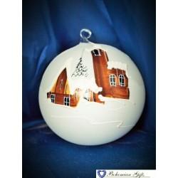 Ball 12 cm- white
