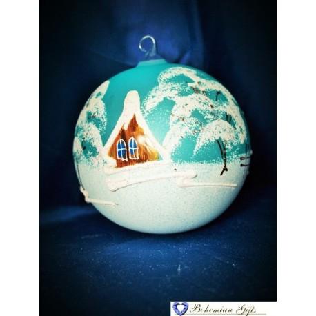 Koule 10 cm- bledě modrá