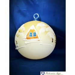 Ball 10 cm- yellow