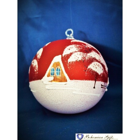 Ball 10 cm- red