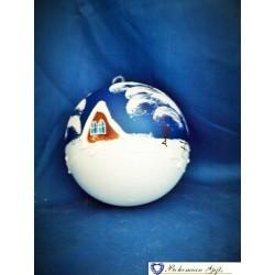 Koule 10 cm- modrá